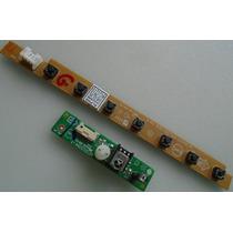 Placa Sensor Controle Remoto E Teclado Tv Aoc D32w931