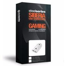 Placa De Som Steelseries Siberia Usb 7.1 Canais Soundcard