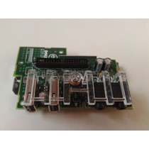 Placa Painel Frontal Usb Audio Dell Optiplex 740 745 0hj318