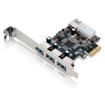 Placa Usb 3.0 Pci Express 4xusb3.0 (3+1) Ga130 Multilaser