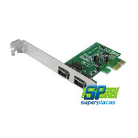 Placa Pci-express Captura Firewire Ieee 1394a 1x