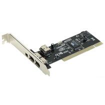 Placa Firewire Chipset Via 4 Portas Ieee1394 + Cabo 6 X 4