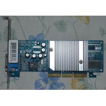 Placa De Video Agp Geforce G4 Mx4000 64mb Ddr