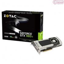 Placa De Vídeo Geforce Gtx 980ti 6gb Zotac Ddr5 Com Garantia