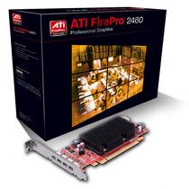 Placa De Vídeo Profissional Ati Firepro 2460 Low Profile