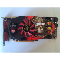 Placa Vídeo Xfx Ati Radeon Hd 4870 1gb