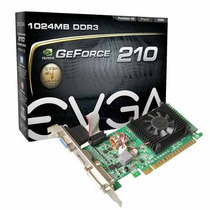 Placa Vídeo Evga Gt210 Geforce 1gb Ddr3 Pci-ex C/ Hdmi Dvi