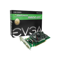 Geforce Evga Nvidia 9800gt 1gb Ddr3 256bits 1400mhz / 550mhz