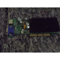 Placa De Video Agp Geforce Nvidia Fx 5200 128 Mb
