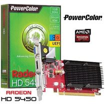 Placa De Video Radeon Hd5450 1gb Ddr3 64 Bits Vga|hdmi|dvi-