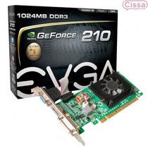 Placa Vga Evga Geforce Gt 210 Gddr3 Pci-e 1gb Sem Juros