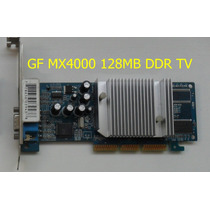 Placas 128 Mb Agp Ddr-tv Geforce Nvidia Ati