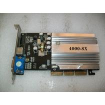 A326 Nvidia Gf4 Mx4000 Agp 128mb 8x Vga Tv