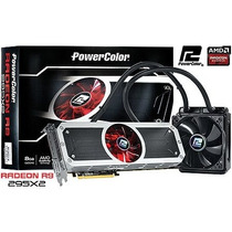 Placa De Video Radeon R9 295x2 8gb 512 Bits Water Cooler