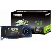 Placa De Vídeo Nivida Geforce Zogis Gtx 650ti Boost 2gb Ddr5