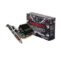 Placa De Vídeo Vga Xfx Amd Ati Radeon Hd5450 1gb Ddr3 64-bit