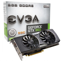 Placa De Video Gtx 960 Evga Ssc 2gb Acx 2.0 02g-p4-2966-kr