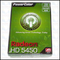 Placa De Video Power Color Ati Radeon Hd5450 1gb Ddr3 Oferta