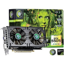 Placa De Video Geforce Gtx 550 Ti 1gb Gddr5 192 Bits Pov