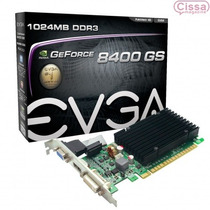 Placa De Vídeo Evga Geforce 8400gs 1gb 64 Bits Com Nf-e