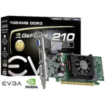 Placa De Video Geforce Nvidia Gt 210 Low Profile 1gb Ddr3