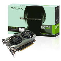 Placa De Vídeo Galax Geforce Gtx 960 Oc 2gb 96nph8dnd8vz
