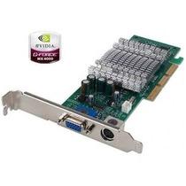 Placa De Video Agp Nvidia Geforce Mx4000 64mb Ddr Tv Out