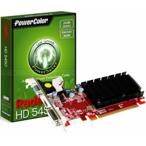 Placa De Video Hd5450 1gb Vga Powercolor Ati Radeon Drr3