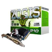 Placa De Vídeo Vga Zogis Geforce Gt210 1gb Ddr3 64bits Pci-e
