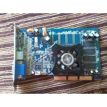 Placa De Video Geforce Fx 5200 Agp 128mb