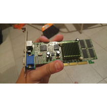 Placa De Video Agp Ge Force Mx400