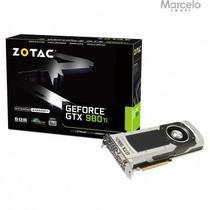 Placa Vga Geforce Gtx 980ti 6gb Zotac 384 Bits Zt-90501-10p