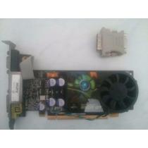 Placa De Vídeo Geforce 9500gt + Cabo Vga + Adaptador Dvi