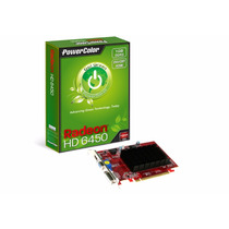Placa De Vídeo Radeon Hd6450 1gb Ddr3-pci Powercolor