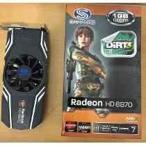 Placa De Video Radeon Hd6870 1gb Ddr5 256-bit Pci-express