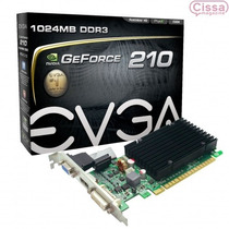 Placa Vga 1gb Evga Geforce Gt 210 64 Bits Gddr3 Lacrado