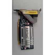 Placa De Video Pci Express Zotac 7200gs 256mb 64bits Ddr2
