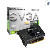 Placa Evga Geforce Gtx 750ti 2gb Opengl 4.4 02g-p4-3753-kr