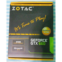 Placa De Vídeo Zotac Geforce Gtx660 2gb Ddr5 192-bit Pci