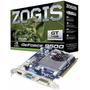 Placa De Video Zogis Nvidia Geforce 9500gt 1gb 128bits Pciex
