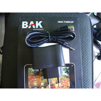 Carregador 5v Do Tablet Bak 7400 Cap Original