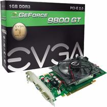 Placa De Video Evga Geforce Gt 9800 1 Gb Ddr3 256 Bits Pci-e