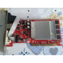 Placa De Vídeo Fx5200 Agp 128mb Vga Dvi Tv-out