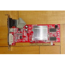 Placa De Vídeo Agp 8x Radeon R9250 128mb 64bit Tv-out Dvi