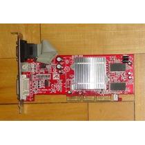 Placa De Vídeo Agp 8x Radeon R9250 128mb 64bit Tv-out Dvi