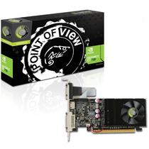 Placa De Vídeo Nvidia Geforce Gt730, 2gb, Ddr3, 128bits