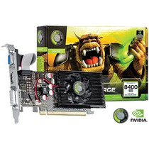 Placa De Video Geforce Nvidia 8400gs 1gb Ddr2 64 Bits