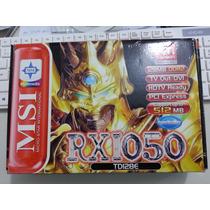 Placa De Video Msi Rx1050-128mb