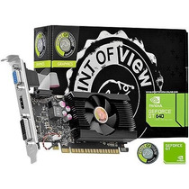 Placa De Video Geforce Gt 640 1gb Ddr3 128 Bits Dvi|hdmi|vg