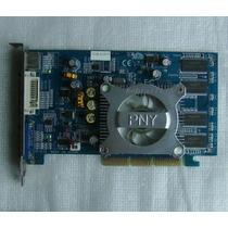 Placa De Video Pny Geforce 6200 Agp 8x Ddr 256mb Vga Tv Dvi